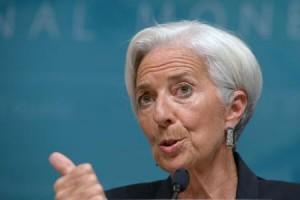Șefa FMI, Christine Lagarde.
