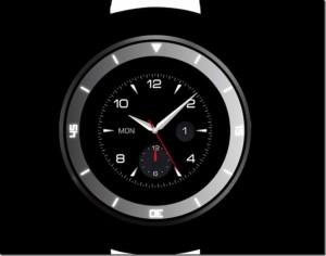 LG pregǎtește lansarea unui ceas inteligent rotund (foto:techcrunch.com)