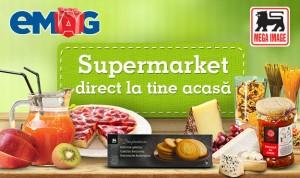 """Mega Image și eMAG ȋți aduc """"Supermarket la tine acasă"""" (foto:blog.emag.ro)"""