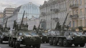 Parada militară de Ziua Naţionala a Ucrainei