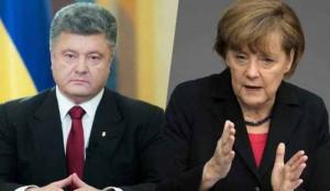 Discuții telefonice Poroșenko – Merkel: Ce au vorbit despre Donbas ? (foto:balrad.com)