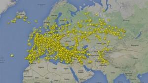 Rusia va interzice survolul pentru avioane între Europa şi Asia