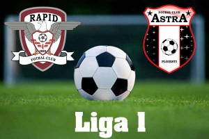 Liga I, etapa a 5-a. Rapid – Astra (live video)