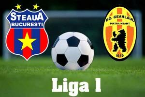 Liga I, etapa a 5-a. Steaua - Ceahlaul