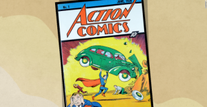 Superman, erou și pe ebay.