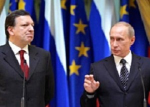 """Putin cǎtre Barroso: """"Dacǎ vreau, iau Kievul ȋn 2 sǎptǎmȃni"""" (foto:chart97.org)"""