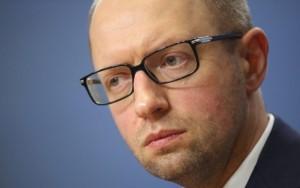 Șeful Guvernului de la Kiev, Arseni Iațeniuk.