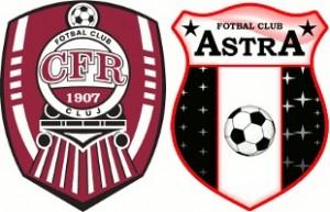 Liga 1, etapa a 7-a: CFR Cluj vs Astra Giurgiu