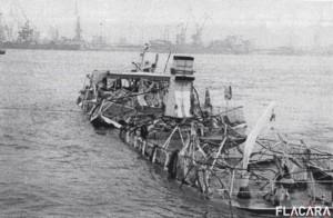 Epava navei Mogosoaia (foto flacara.ro)