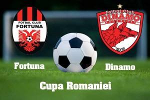 Cupa României, 16-imi: Poiana Campina – Dinamo (live video)
