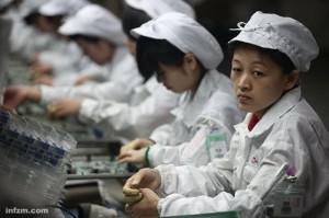 China: Fabricǎ Apple afectatǎ de un val de cazuri de leucemie (foto:utopianist.cont)