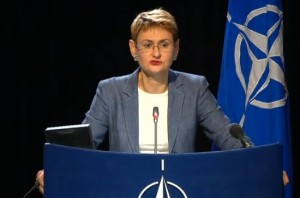 Oana Lungescu, purtator cuvant  NATO
