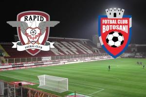Cupa României, 16-imi: Rapid – FC Botoșani (live video)