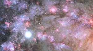 "Galaxia a primit numele ""Sparky"""