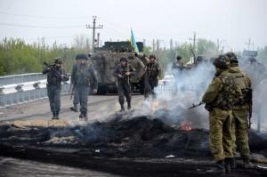 """Ucraina: Armistițiu """"onorat"""" cu exerciții militare ȋn Vest și ȋncǎlcari repetate ȋn Est (Foto:kyivpost..com)"""