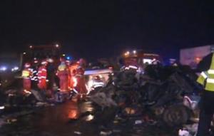 Un șofer sinucigas a luat alte cinci vieți nevinovate.