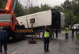 Accidentul rutier din Bulgaria: Bilanț și starea rǎniților (foto:stiri.rol.ro)