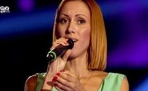 Aliona, concurenta venită direct de la Eurovision.