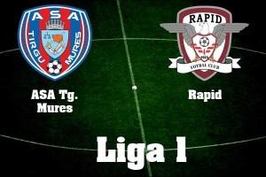 Liga I, etapa VIII: ASA Tg. Mures – Rapid (live video)