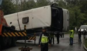 Autocar cu turişti români, accident grav în Bulgaria. Morţi şi răniţi