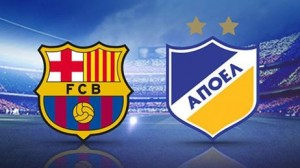 UEFA Champions League: FC Barcelona - APOEL (live video)