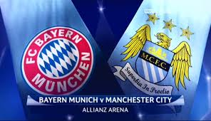 UEFA Champions League: Bayern Munchen vs Manchester City