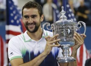 US Open 2014: Marian Cilic a cȃștigat finala cu Kei Nishikori (foto:espn.co.uk)