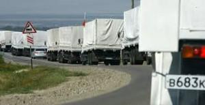 Ucraina - Al doilea convoi umanitar rus a trecut frontiera (foto:q13fox.com)