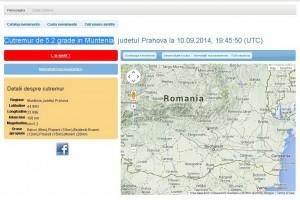 Cutremur de 5.2 grade in Muntenia. L-ai simţit ?