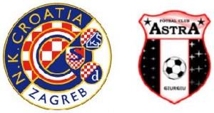 UEFA Europa League, grupa D: Dinamo Zagreb vs Astra Giurgiu