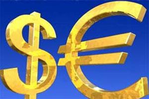 Cursul euro-dolar a atins cel mai scǎzut nivel din ultimii 2 ani (foto:dunya.com)