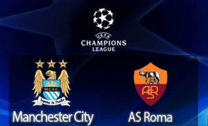 UEFA Champions League: Manchester City – AS Roma (live video)