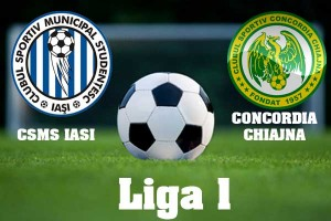 Liga I, etapa 9: CSMS IASI - CHIAJNA (live video)