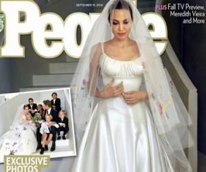 Nunta lui Brad Pitt cu Angelina Jolie în imagini. Foto: toofab.com