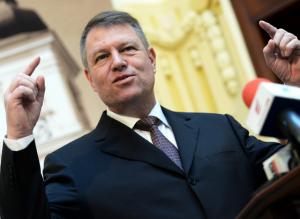 Klaus Iohannis, liderul PNL și candidatul ACL la prezidențiale.