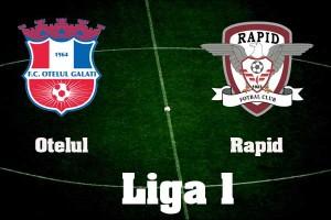 Liga I, etapa VI: Oțelul Galați - Rapid (live video)