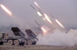 """Armistițiu """"sǎrbǎtorit"""" de Rusia prin intensificarea tirurilor (foto:funker530.com)"""