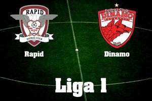 Liga I, etapa 9: Rapid - Dinamo (video live)