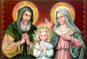 Sfinţii Părinţi Ioachim şi Ana, părinţii după trup ai Maicii Domnului