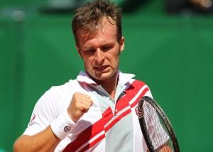 Cupa Davis, Romȃnia - Suedia: Ungur aduce victoria Romȃniei (foto:sportsudest.ro)
