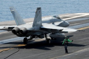 Irak: Raid aerian american asupra unui obiectiv al jihadiștilor SI (Foto: nydailynews.com)