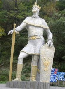 statuia voievodului Basarab I