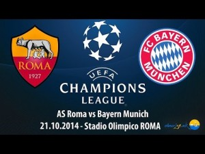 Champions League. AS Roma – Bayern