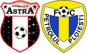 Liga 1, etapa a 12-a: Astra Giurgiu vs Petrolul Ploiești