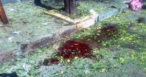 Atac asupra unei scoli - Foto agentia siriana SANA
