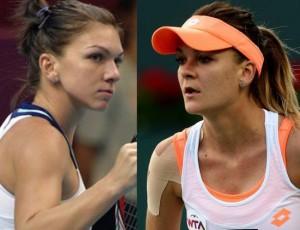 semifinala: Simona Halep vs. Agnieszka Radwanska