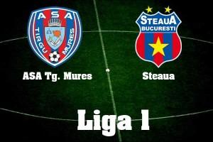 Liga I, etapa 12. ASA Tg Mures - Steaua