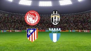 Champions League. Olympiakos - Juventus