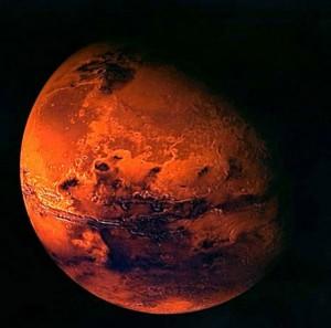 """ESA – fenomen astronomic rar: Cometa Siding Spring """"a atins ȋn treacǎt"""" Marte (foto:anewsastrology.com)"""