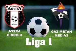 Liga I, etapa 11: Gaz Metan - Astra Giurgiu (video live)
